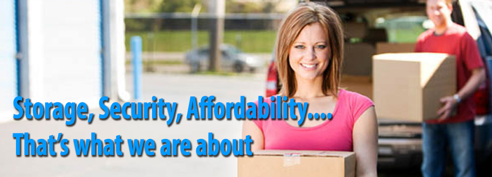 Storage, security, affordability, that is what we are about